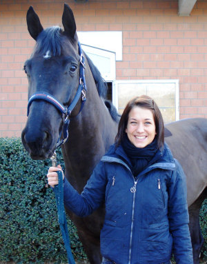 Daugther Sonja with her young and impressive gelding Ferris, We wish a lot of success for the show season 2011!