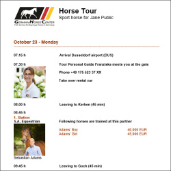 Personal Tour Guide - Horse Tour
