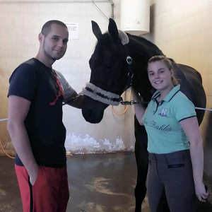 Congratulations on this beautiful, talented young dressage mare, Zsófia!