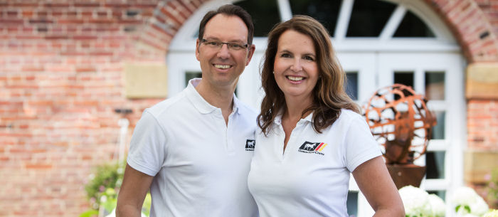 Stefan and Tanja, founders of German Horse Center